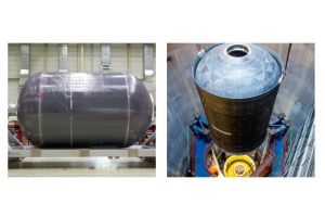 Tank aus CFK für Ariane 6 besteht Drucktest