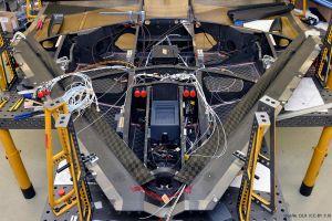 Nurflügler Sagitta als Prototyp für autonome Drohnen