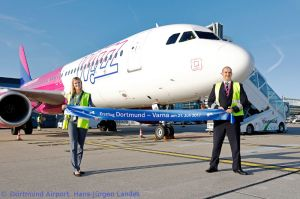 Dortmund Airport mit Ferienziel Varna im Wizz Air-Netz