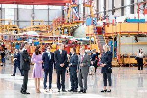 Herzogin Kate und Prinz William besuchten Airbus-Werk in Hamburg