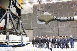 Rotorsteuerung im Windkanal: Test zeigt leiseren Flug
