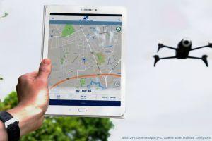 DrohnenApp der DFS gibt Flugbeschränkungen vor Ort an