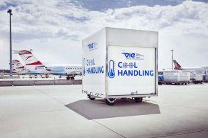 Eigenentwicklung: Container am VIE für durchgängige Kühlkette