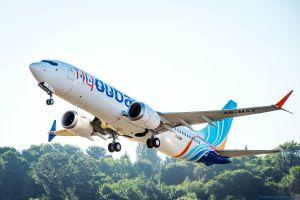 Erste 737 MAX 8 für flydubai überstellt