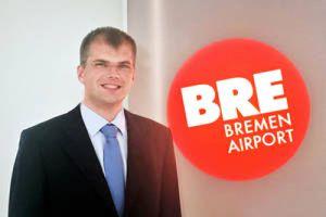 Raphael Poggensee leitet Bremen Airport Handling