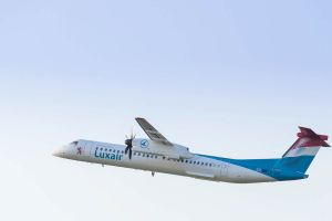 Elfte Bombardier Q400 für Luxair überstellt