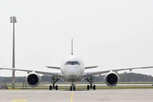 Airbus A350 XWB der Lufthansa gehen nach Hongkong an den Start