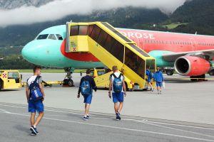 Top-Fußballclubs fliegen zum Trainingslager über Airport Innsbruck