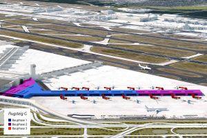 Fraport zieht Flugsteig G aus Terminal 3 per Bauantrag vor
