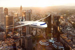 TU München Gewinnerteam beim Flugzeug der Zukunft