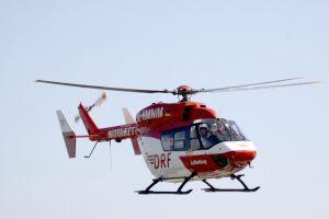 1.000. Einsatz: DRF-Hubschrauber rettet Schlaganfallpatientin