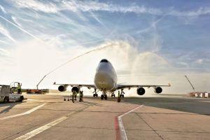 Frachtzuwachs und Carrier Suparna Airlines am Hahn Airport