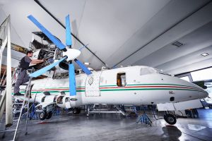 Dornier 328 der Botswana Defence Force schneller inspiziert
