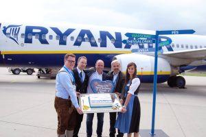 Ryanair-Basis am Flughafen Memmingen eröffnet