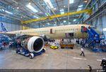 Trent XWB-Triebwerke am ersten A350 MSN001 montiert