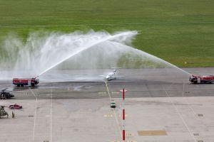Embraer Phenom 100 landet in Österreich