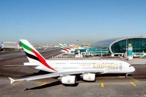 Emirates vor Einflottung des 100. Airbus A380