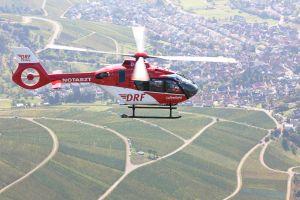 H135 an Luftretter übergeben – Medizinische Einrüstung