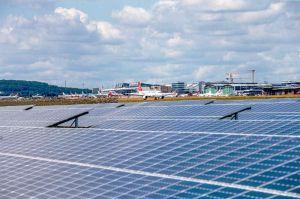 Stuttgart Airport verbessert CO2-Bilanz