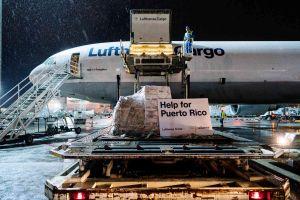 MD-11 der Lufthansa hilft Gemeinden in Puerto Rico