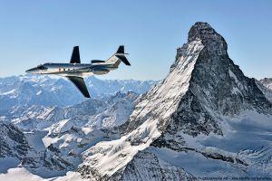 Business Jet PC-24 zur NBAA-BACE in Las Vegas
