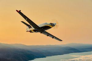 Turboprop PC-12 NG zur NBAA-BACE: Den Gürtel behalten
