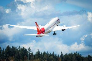 Dreamliner 125. Flugzeug für Air India