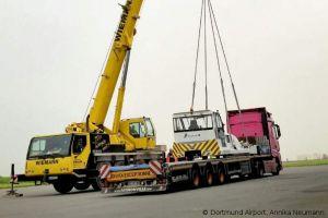 E-Pusher: Flughafen Dortmund bekommt weiteres Elektrofahrzeug
