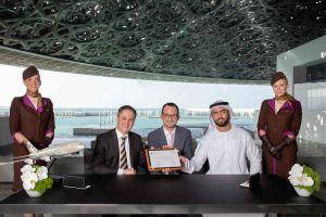Louvre Abu Dhabi: weltweit aufgestellt mit Etihad Airways