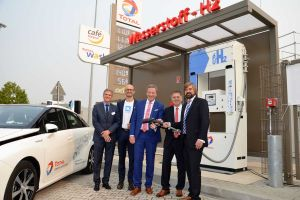 100 Wasserstoff-Tankstellen für Deutschland und Strom-Verkehr