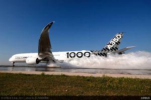 A350-1000 XWB fliegt zu ihrer Zulassung