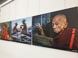 Fotoausstellung Myanmar am Flughafen Münster/Osnabrück