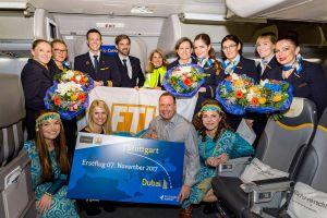 FTI ließ die Erstflüge nach Dubai, Malta und Luxor starten