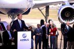 Spatenstich für Airbus-Werk in den USA