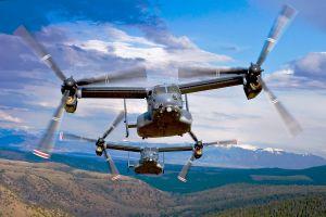 Bell Boeing V-22 Osprey erreichen 400.000 Flugstunden