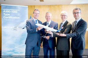 Zulassung erteilt: Airbus A350-1000 darf in Linienbetrieb