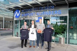 Flughafen Nürnberg unterstützt Basketball Falcons