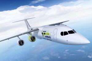 Tech-Riesen arbeiten am hybrid-elektrischen Airliner