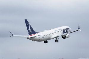 Boeing 737 MAX bei LOT gelandet