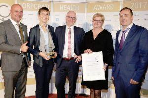 Corporate Health Award für Flughafen München