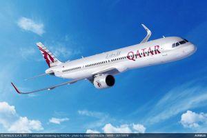 50 Mal Airbus A321neo für Qatar Airways