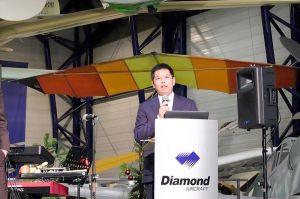 Diamond Aircraft an Wanfeng aus China verkauft