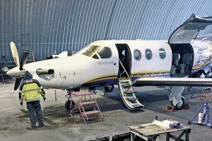 Reisedienst nach Sibirien machte Flugzeuge flott