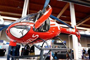 Hubschrauber-Know-how auf der AERO im Heli-Hangar