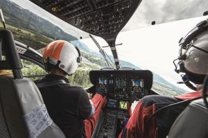 ADAC-Hubschrauber 2017: 30 Minuten Flug pro Einsatz