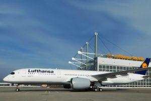"""A350-900 D-AIXG wird """"Mannheim"""""""