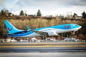 TUI fliegt erstmals Boeing 737 MAX