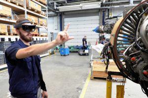 Augmented-Reality soll bei Triebwerkspflege helfen