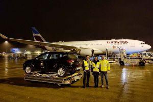 LHT Cargo nutzt A330 der Eurowings für PKW-Flug