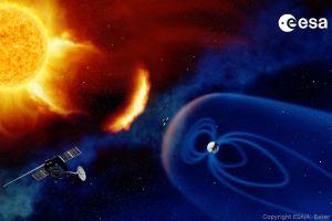 OHB verfasst Studie für Weltraumwetter-Mission an L5
